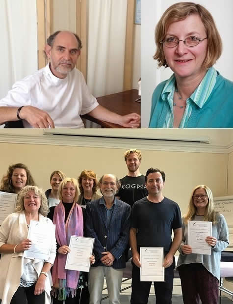 Jonathan and Rosemary Lawrence + CranioSacral Course 2019